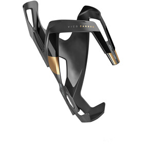 Elite Vico - Porte-bidon - Carbon noir/Or